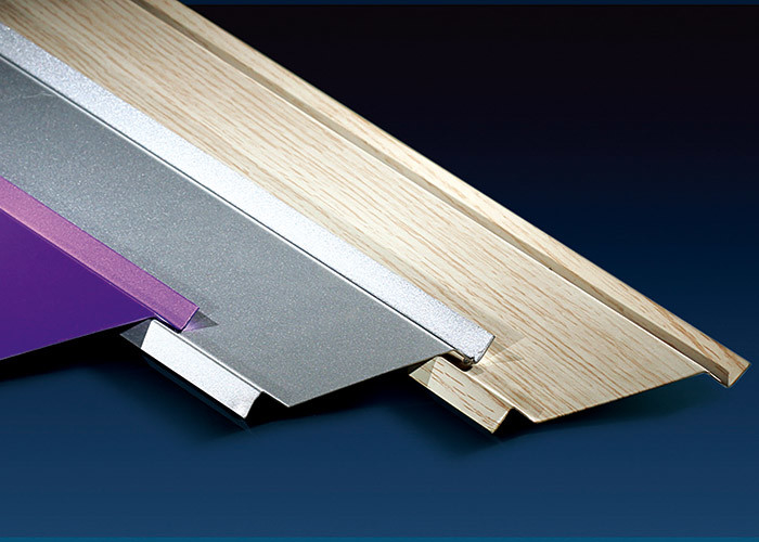 100mm Height Metal Ceiling Channel , Shops Aluminium Ceiling Tiles Sound Insulation